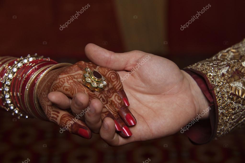 Mehndi Hands Couple : Couple holding hands u stock photo iphemant