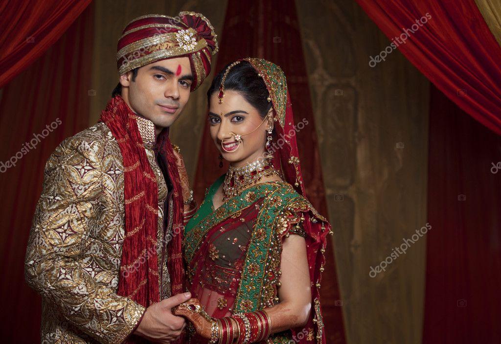 Beautiful Indian Couple Stock Photo Iphemant 47446827