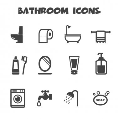 Bathroom icons