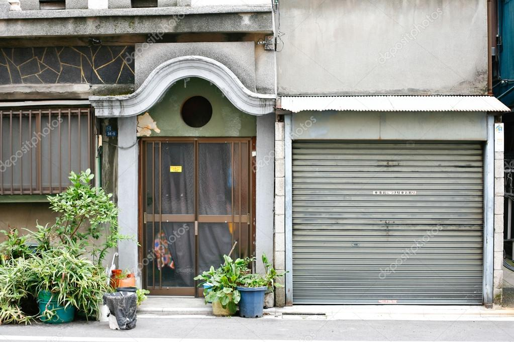 Maison Japonaise Dans Le Quartier Dueno à Tokyo Au Japon