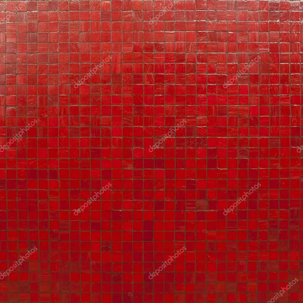 Rode moza ek tegels behang stockfoto 2nix 19684757 - Rode metro tegel ...