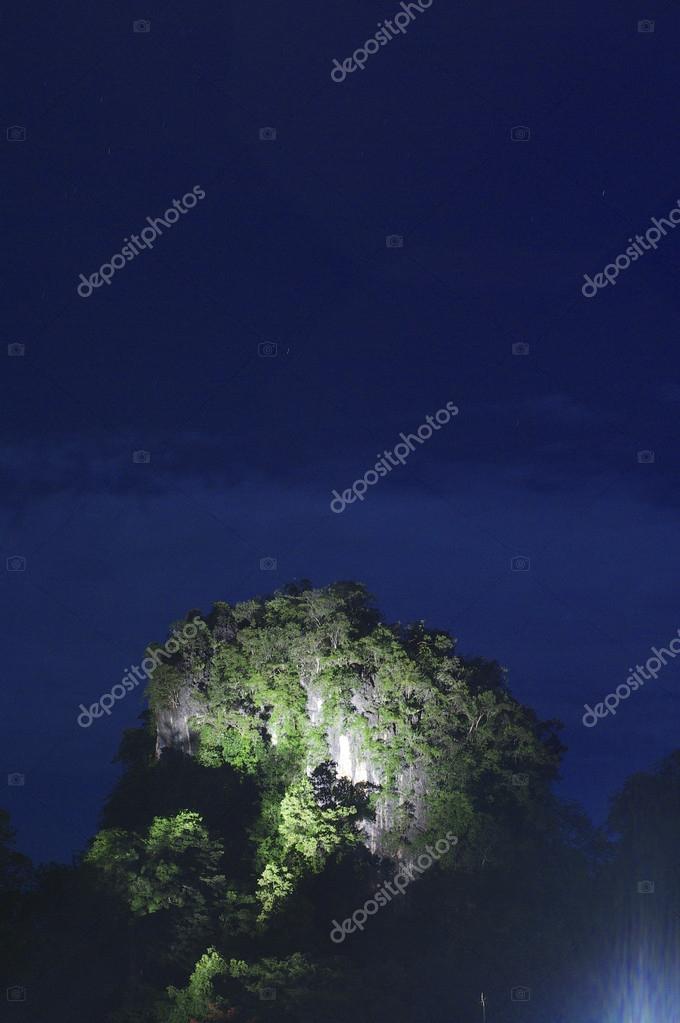 Mountains. High dynamic range image tone mapped