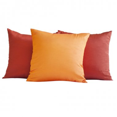 Colorful Pillow isolated on white background
