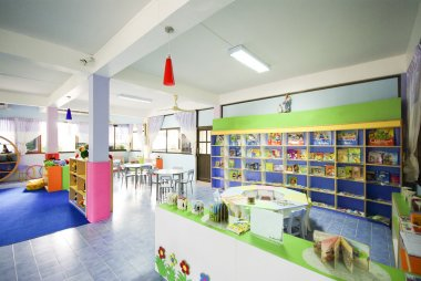 Toy room for children