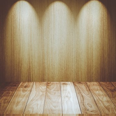 Vintage wood wall texture background