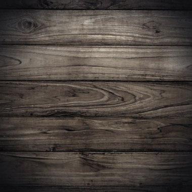 Big dark wood plank wall texture background