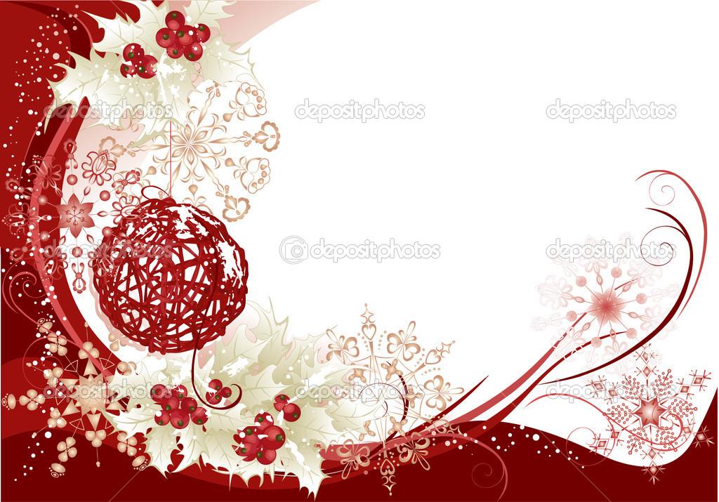 rot weihnachten rahmen hintergrund stockvektor 14286739. Black Bedroom Furniture Sets. Home Design Ideas