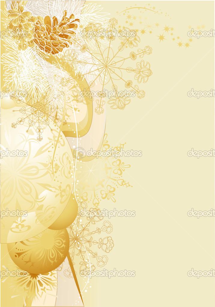 Sfondi Natalizi Oro.Sfondo Di Natale Oro Vettoriali Stock C Papelita7 14286767