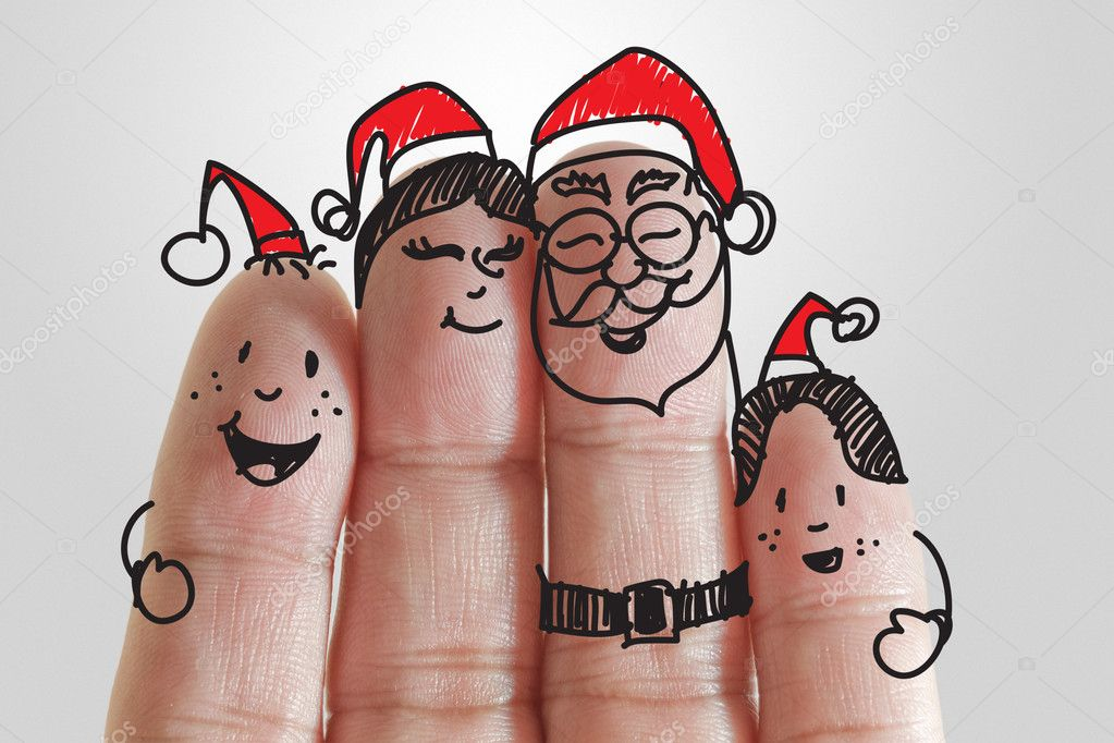 Fingers Family and christmas