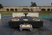 Raj ghat, gandhi památník v Dillí