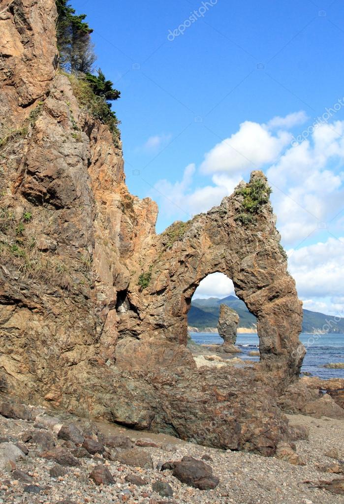 Coast of Sakhalin Island