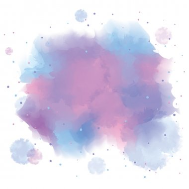 Colorful spot, watercolor abstract hand painted background stock vector