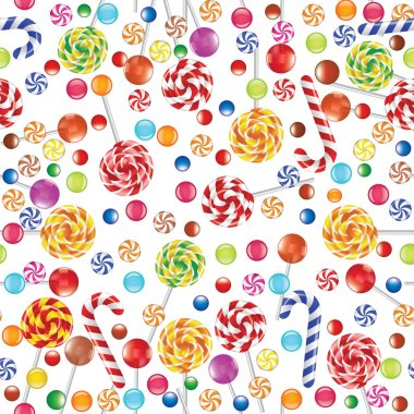 Candies background