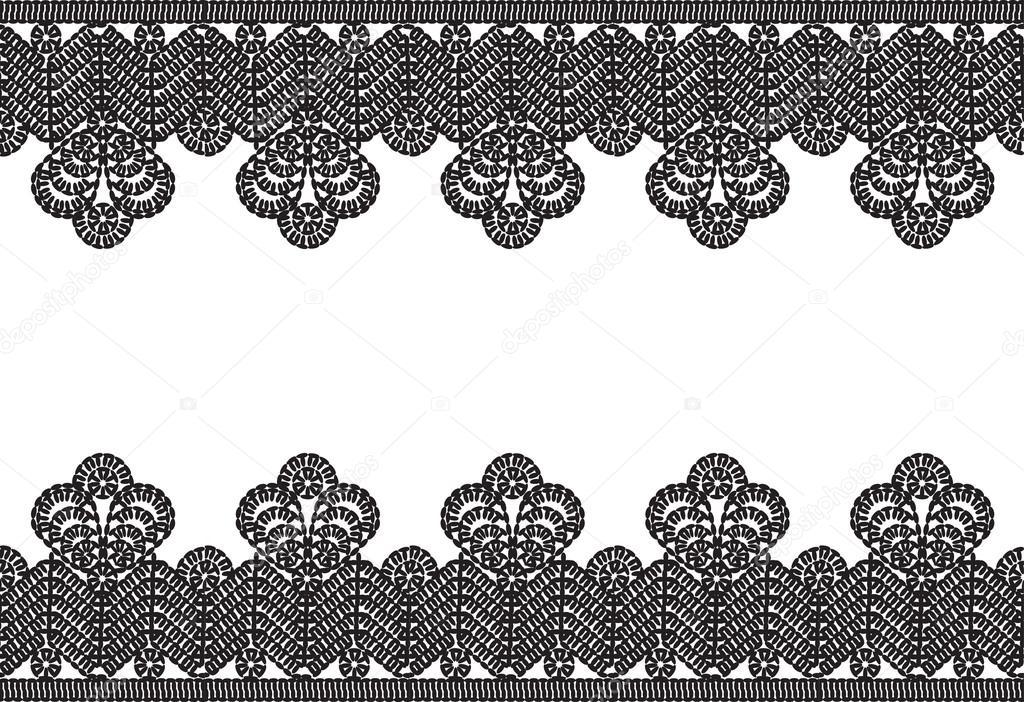 Fotos: marco ganchillo | marco negro antiguos encajes de ganchillo ...