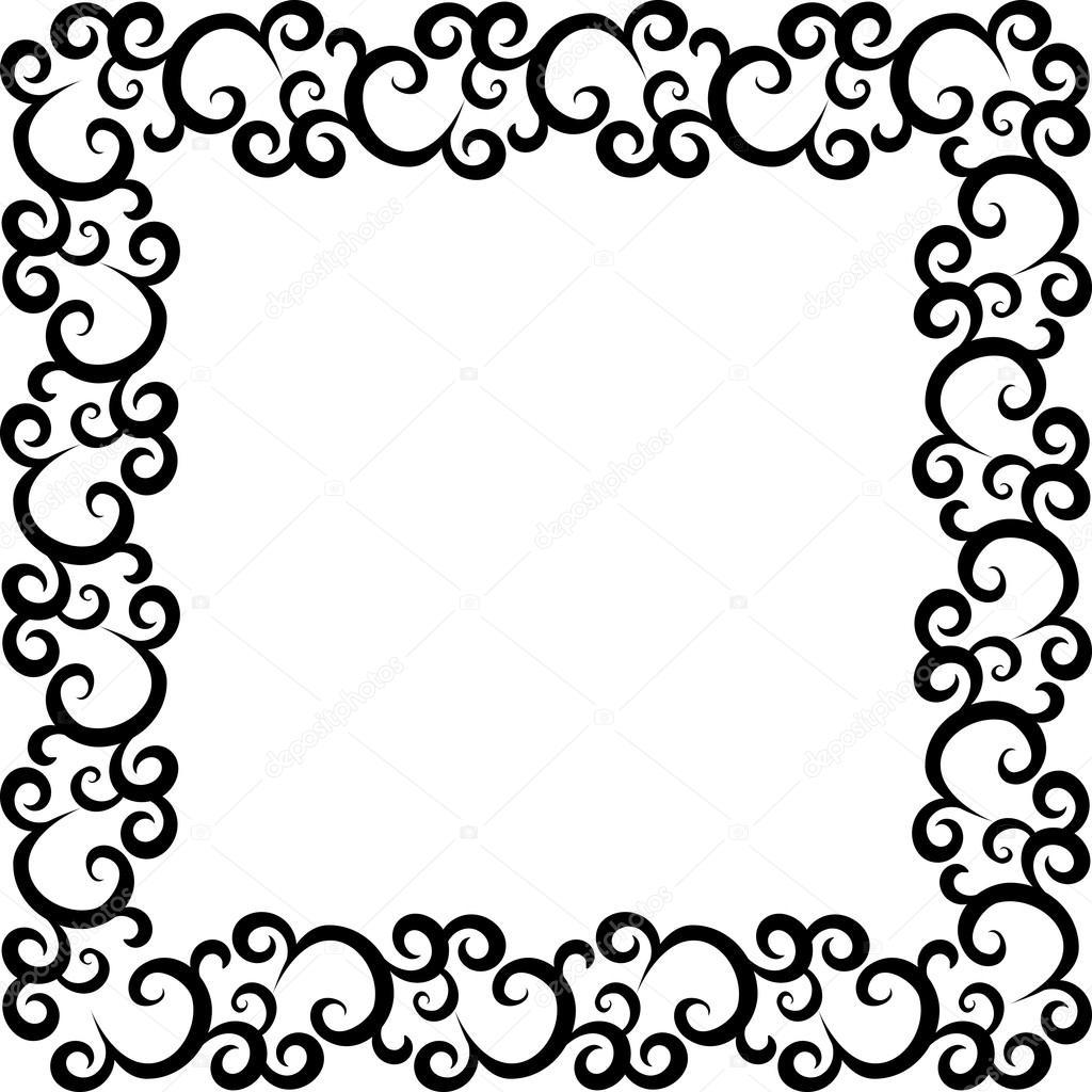 Muster-Rahmen — Stockvektor © Prikhnenko #18690717