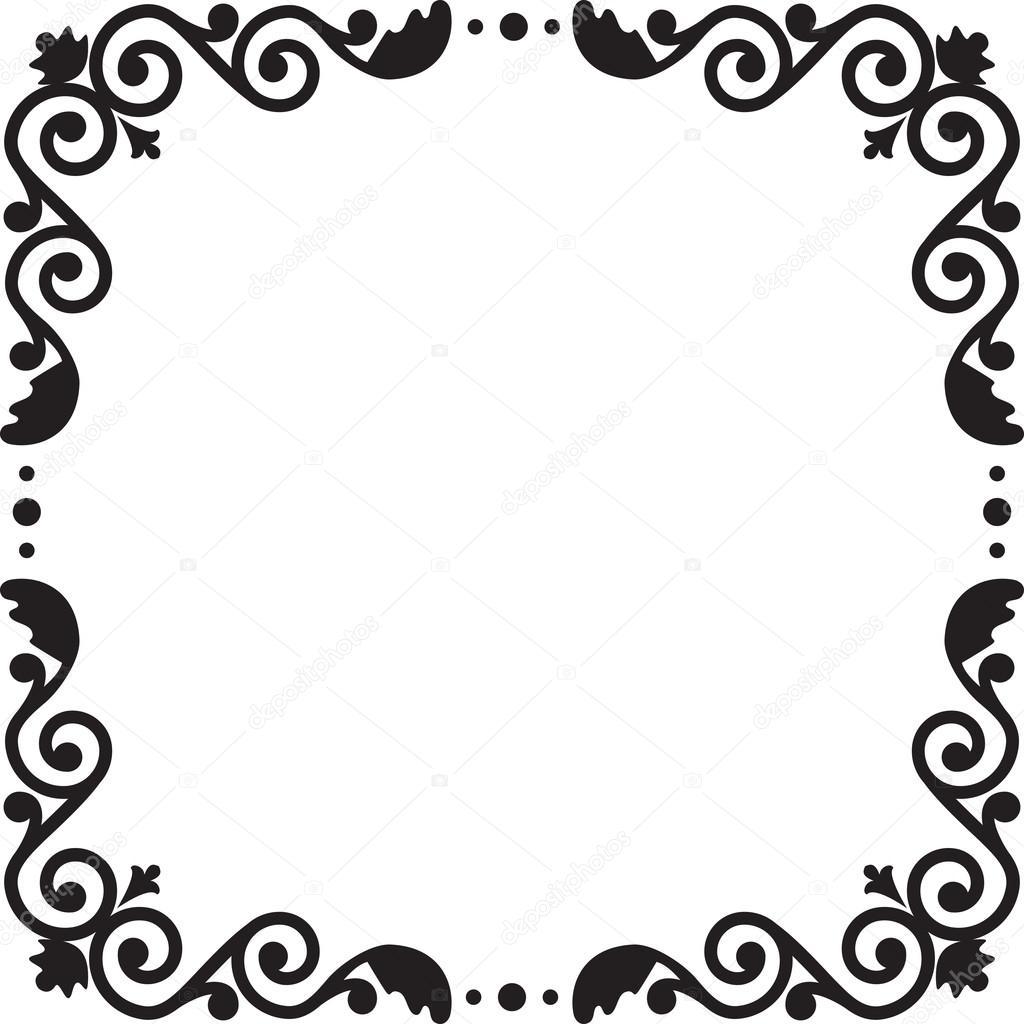 Muster-Rahmen — Stockvektor © Prikhnenko #24953931