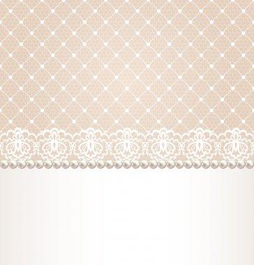 lace floral border