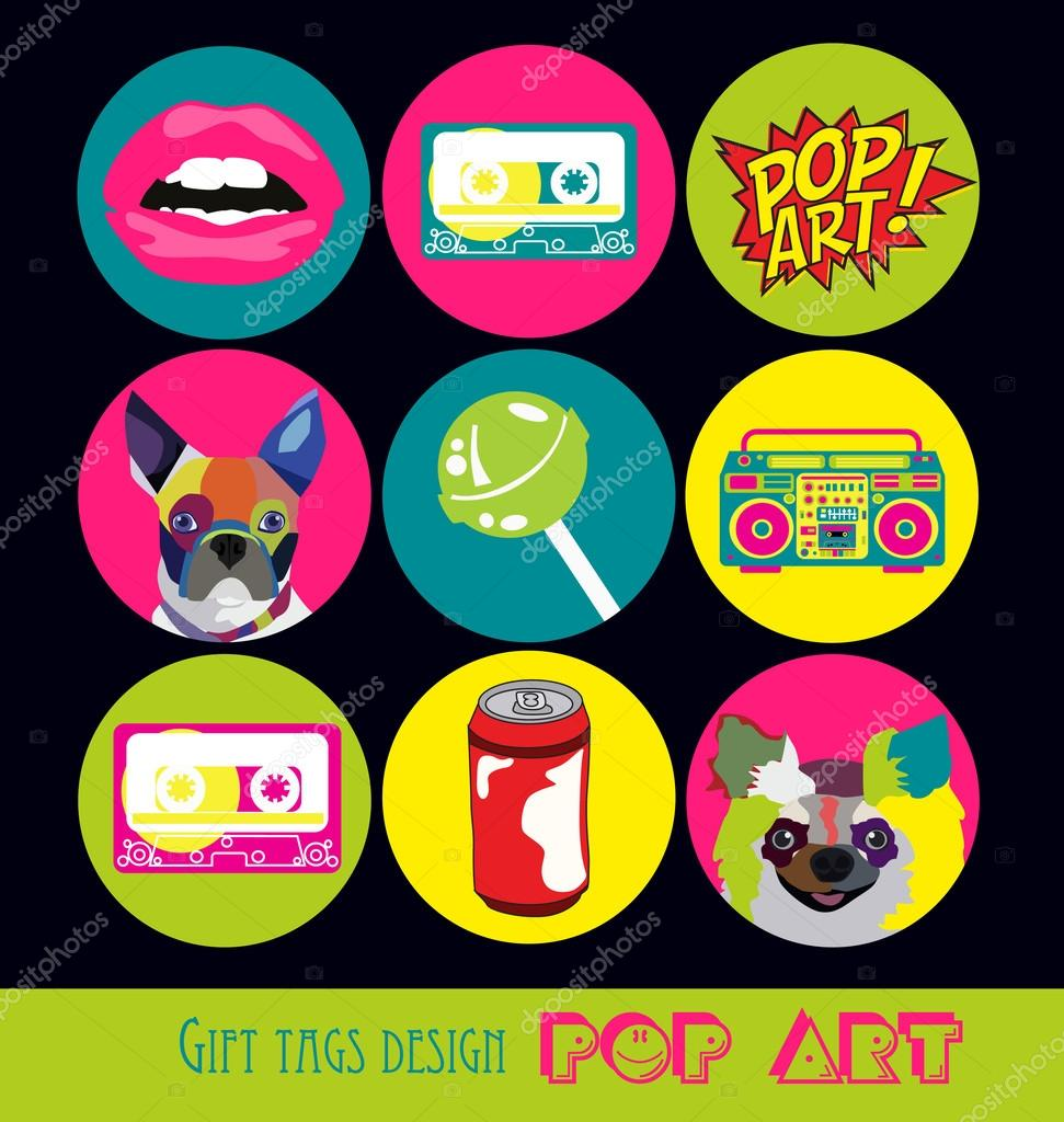 Pop art card