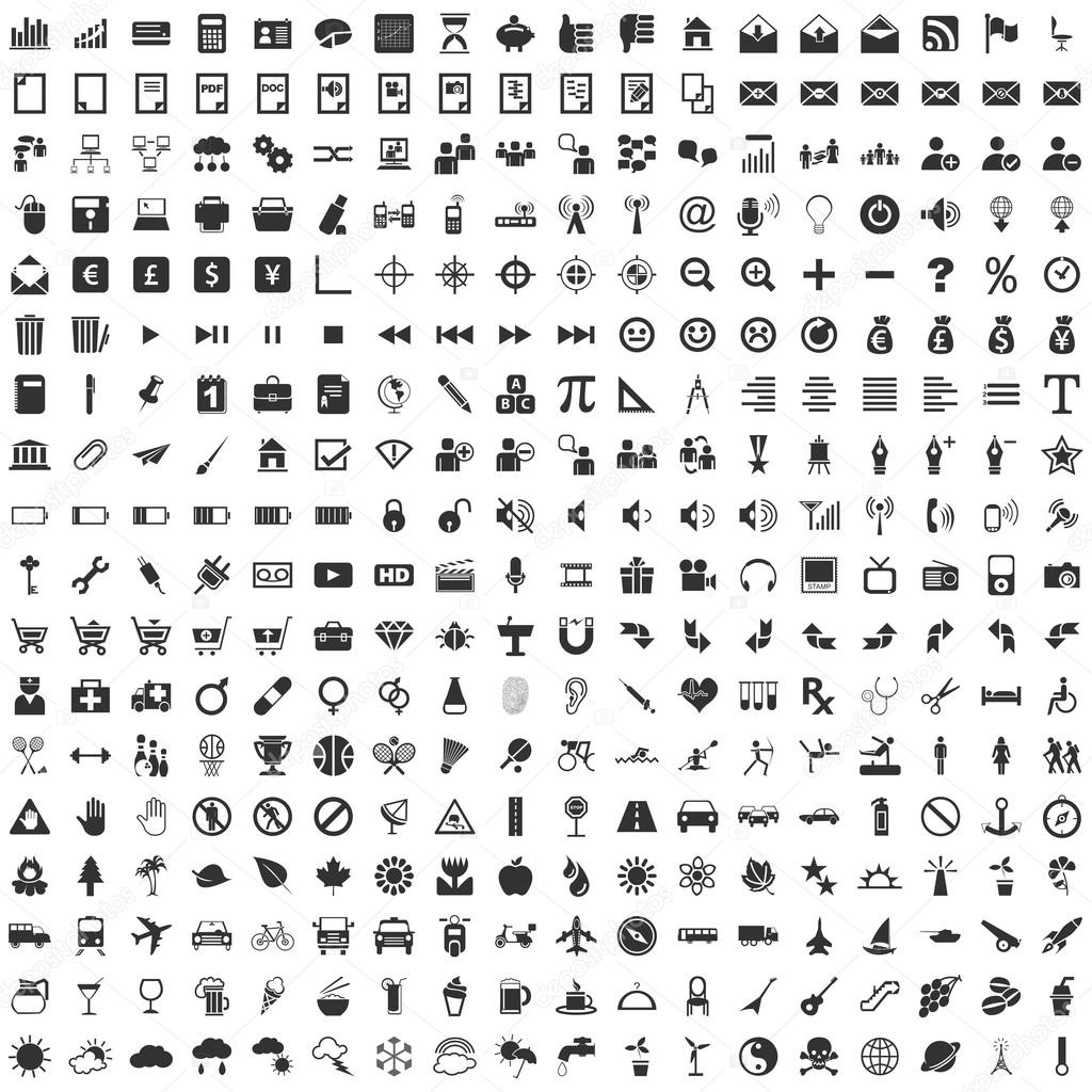 Basic RGB, 324 Vector Icons