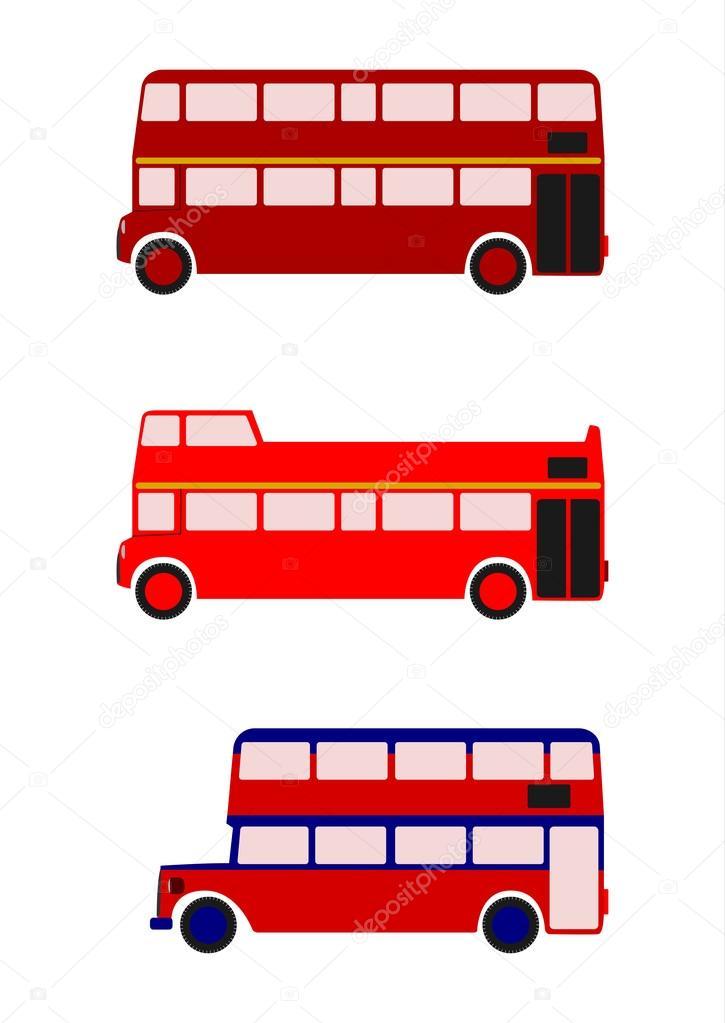 London buses.
