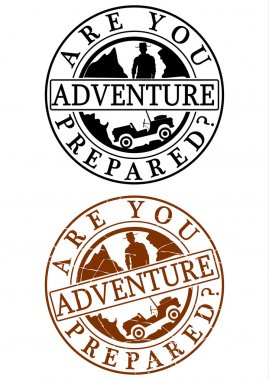 Adventure stamp