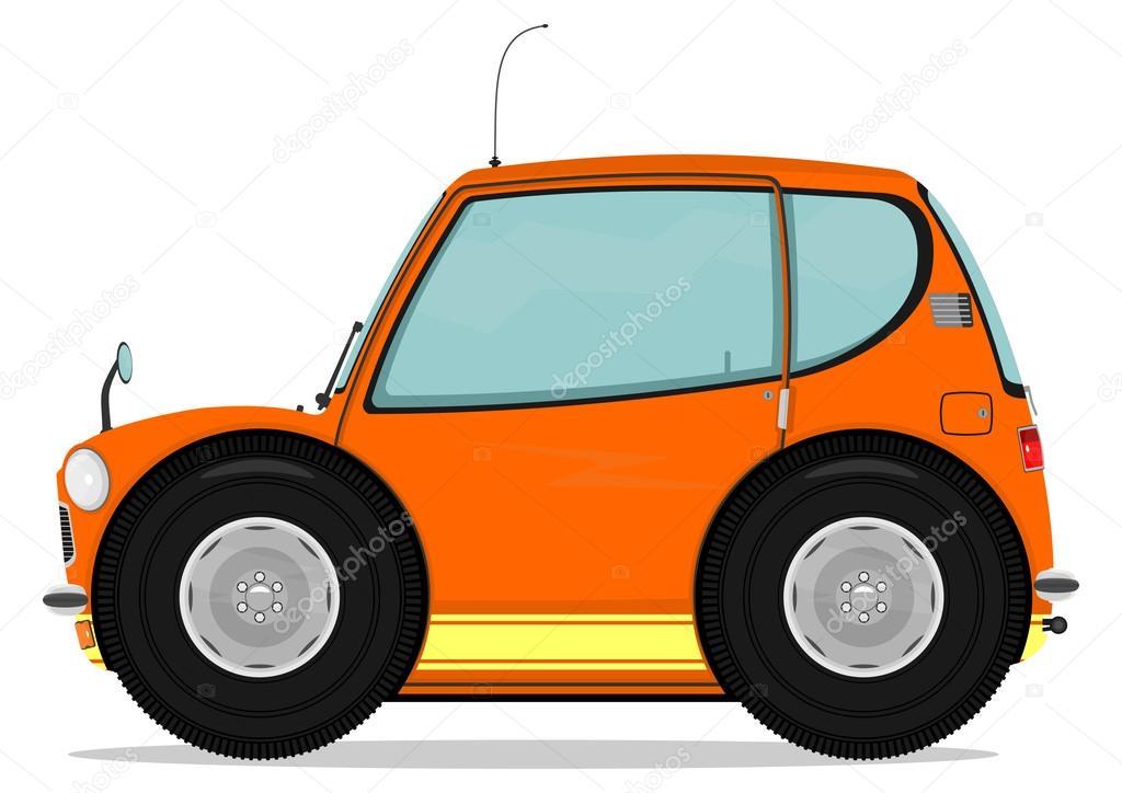 Piccola auto — vettoriali stock norsob