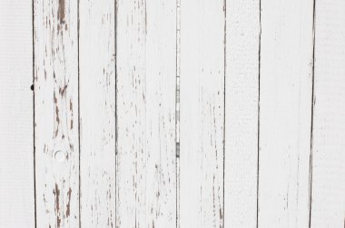 White wooden planks texture. Vertical