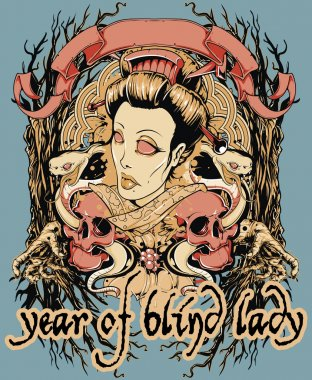 Year of blind lady