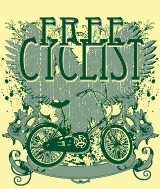 Free cyclist