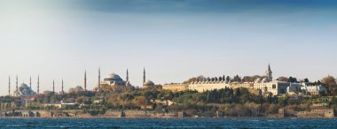 Panoramic view over Topkapi palace and two mosques