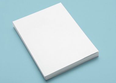 Blank Book Cover