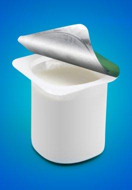 Open Yogurt Cup