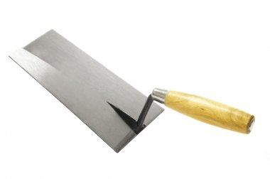 Handy Trowel Tool Isolated on White Background stock vector