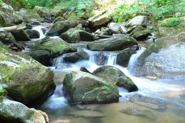 Rock into stream