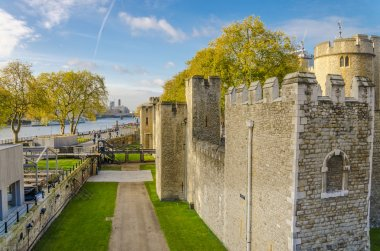 Tower of London in autumn