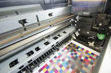Large format ink jet printer