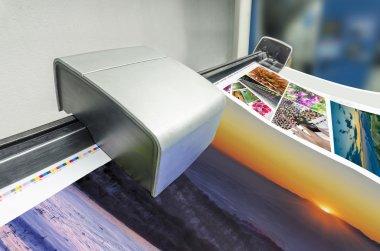 Offset machine press