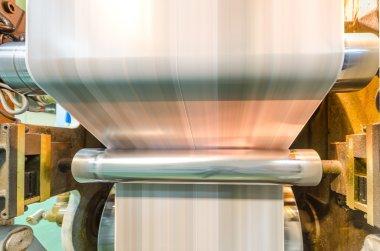 Large webset offset printing press