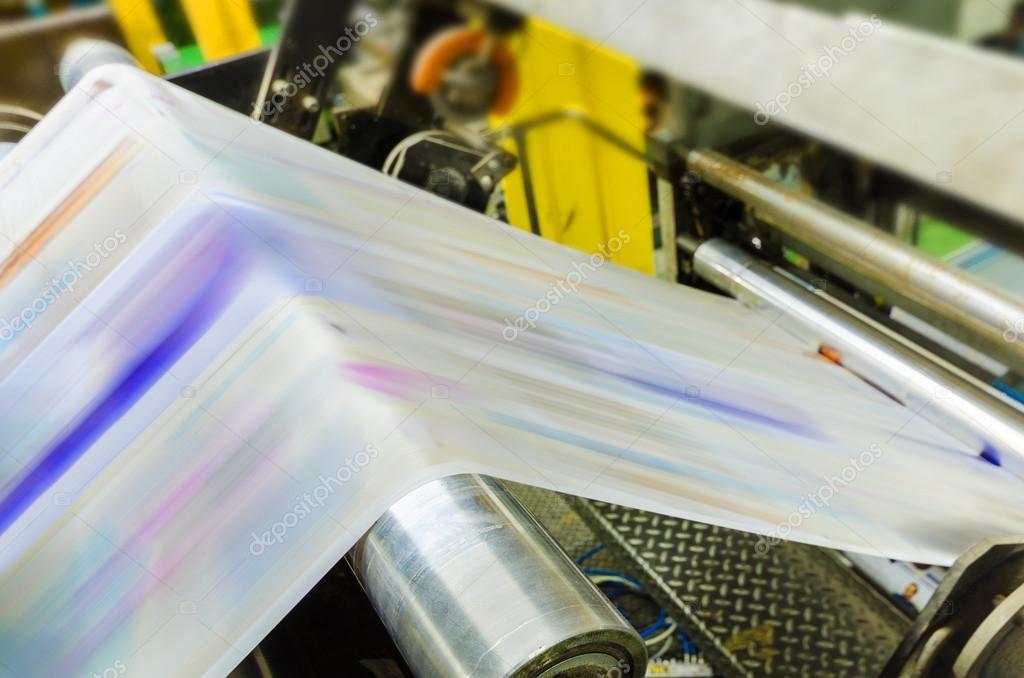 Working print machine