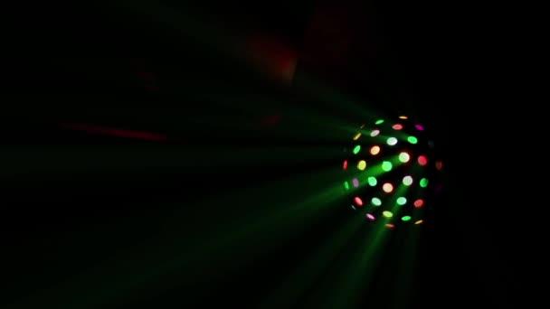 Disco rotující světelný míč