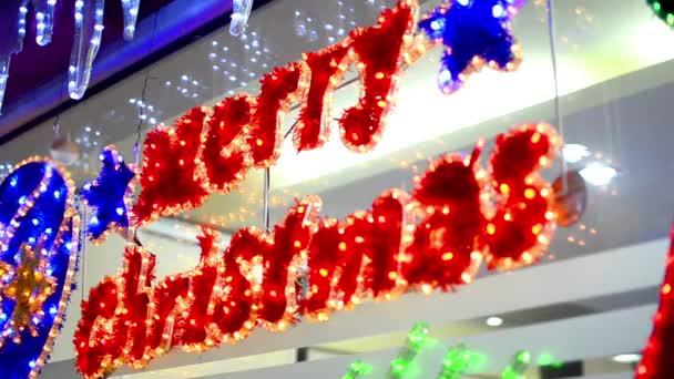 Merry christmas szöveg-dekoráció