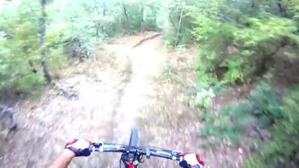 horské kolo podzimní jízda