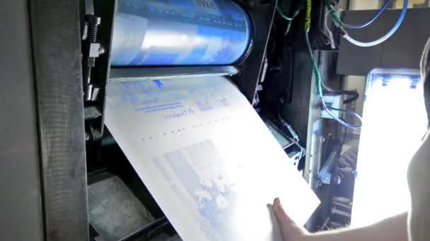 ROTO tisku typografie stroj