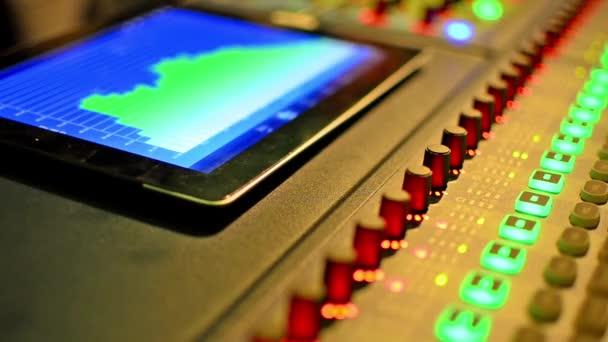 Zene-stúdió keverő