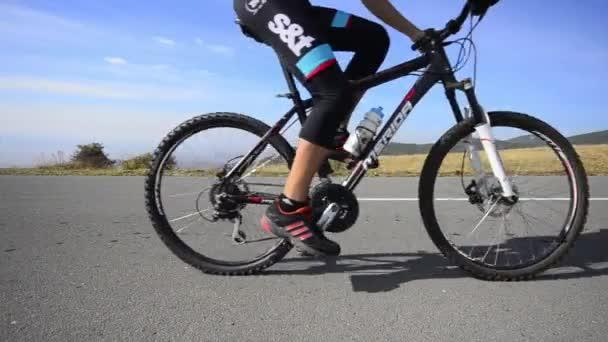Mountain cycling race