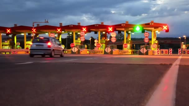 Highway Car Pay toll