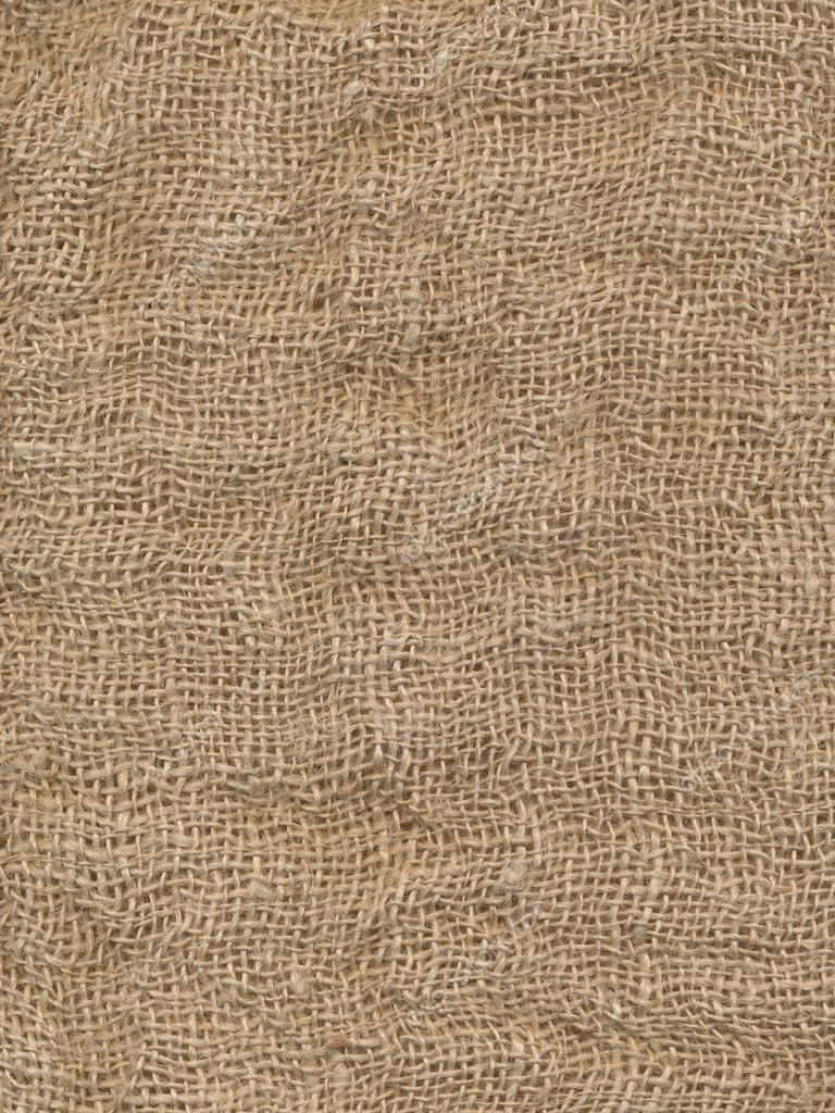 Grunge Burlap Sack Abstract Background Texture Stock Photo