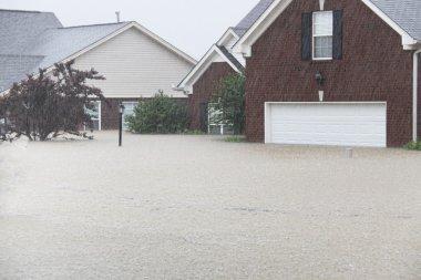 Flooding rains