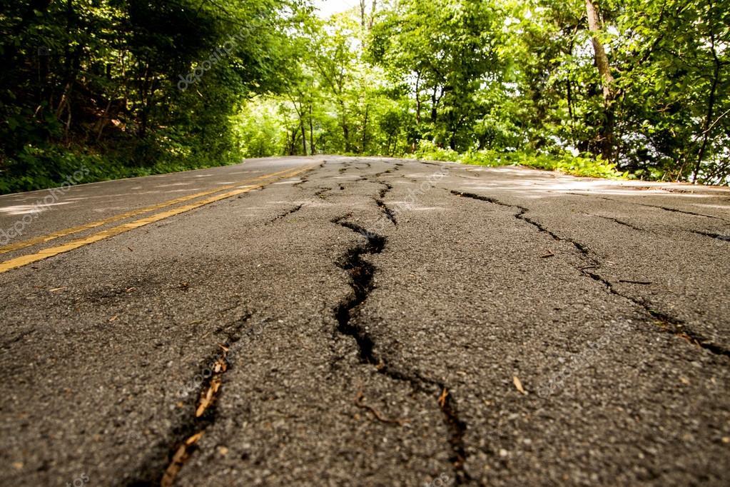 Road is disrepair