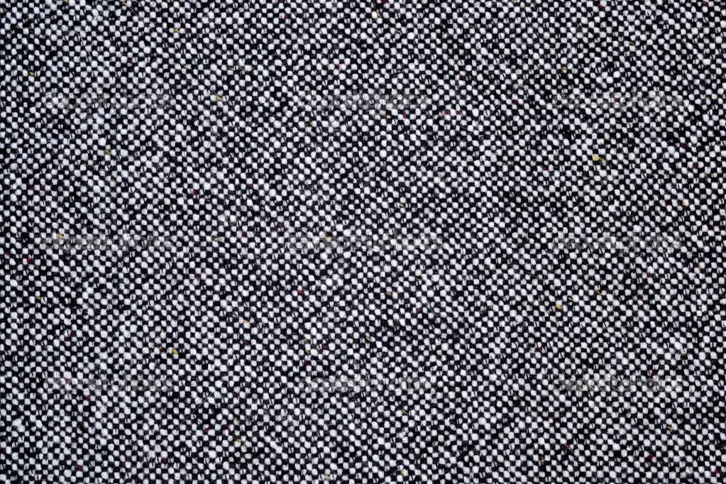 Grey Tweed Texture Gray Wool Pattern Stock Photo